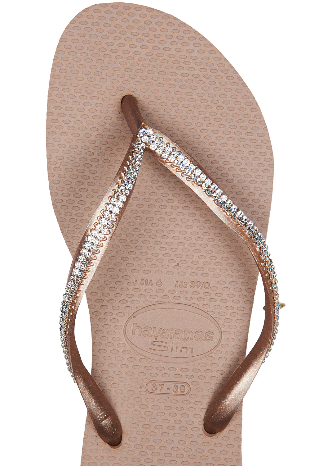 3b6cd4c39 ... havaianas-slim-crystal-mesh-flip-flops-rose-gold