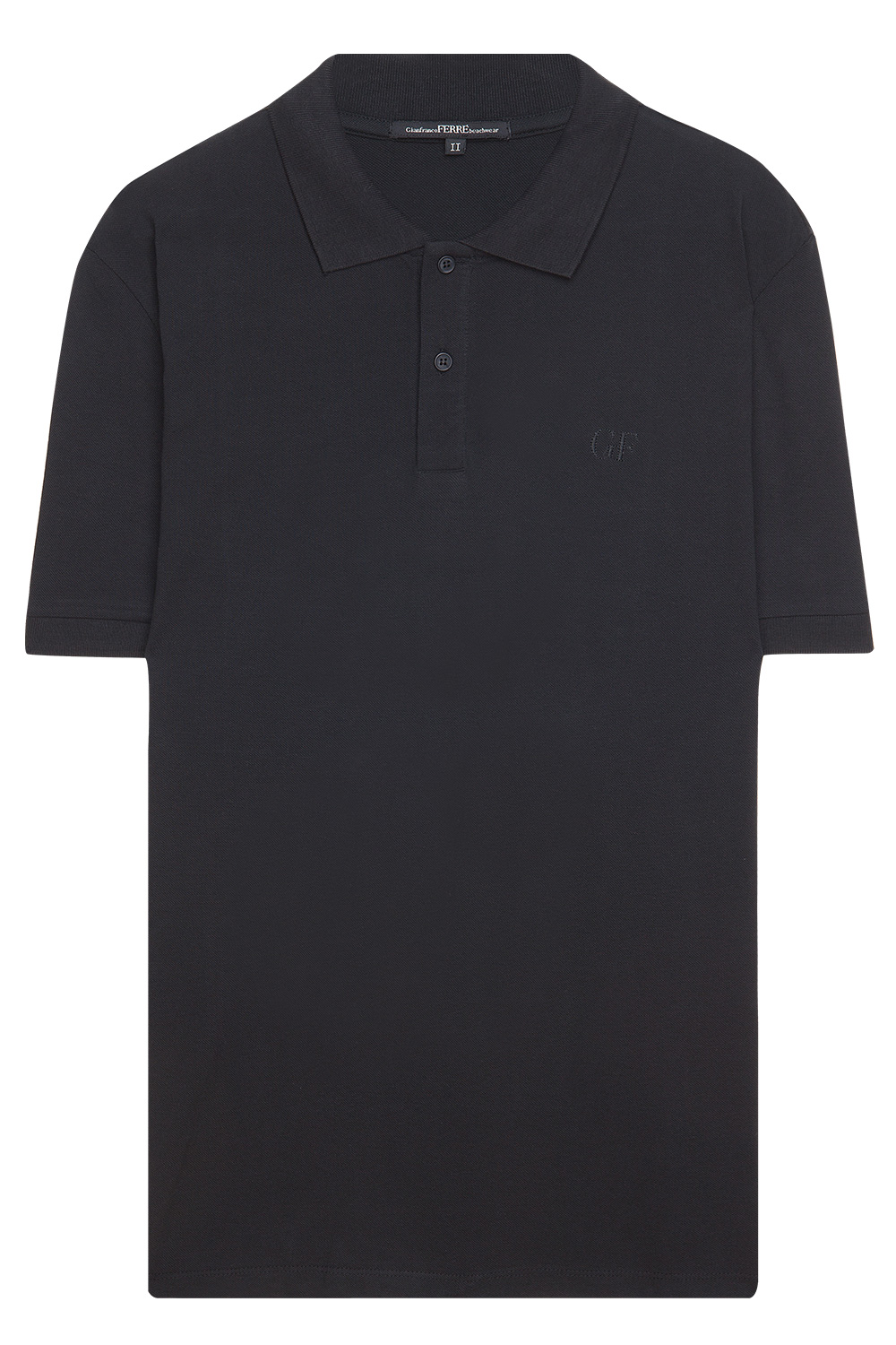 Gianfranco ferre polo t shirt black 365ist for Black polo shirt images