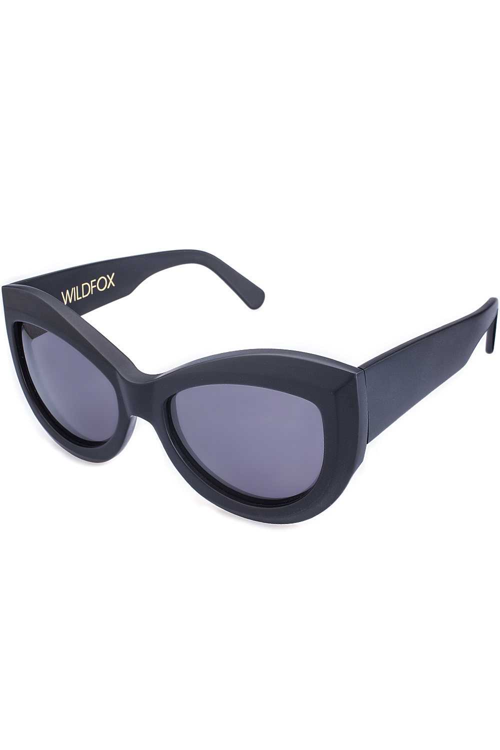 3e9d52426a Wildfox The Kitten Sunglasses Matte Black