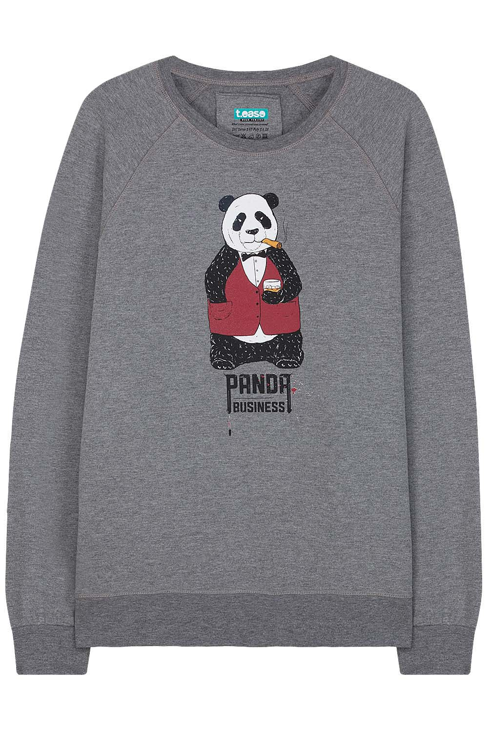 Panda Business Sweatshirt