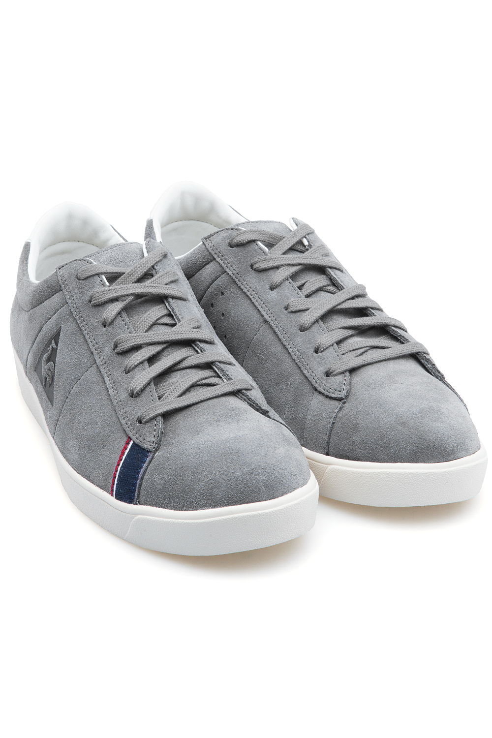le coq sportif dax suede sneakers grey 365ist. Black Bedroom Furniture Sets. Home Design Ideas