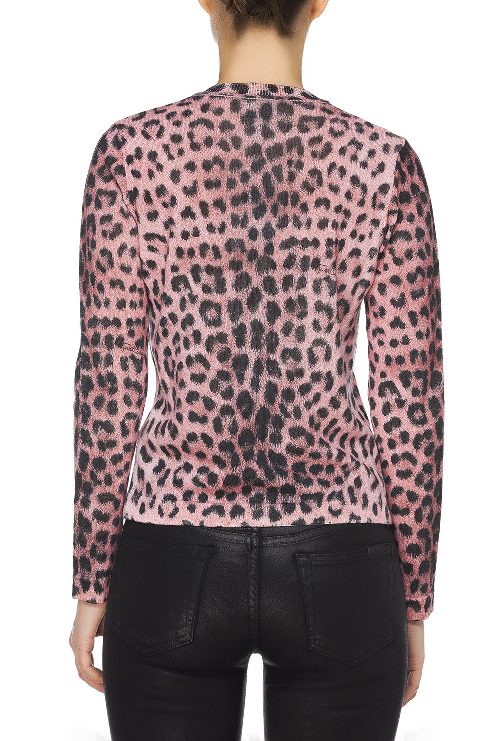 Just Cavalli Pink Animal Print Cardigan Pink 365ist