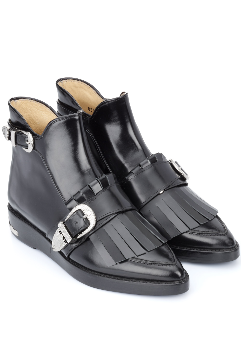 Toga Pulla Black Polido Shoes Black 365ist