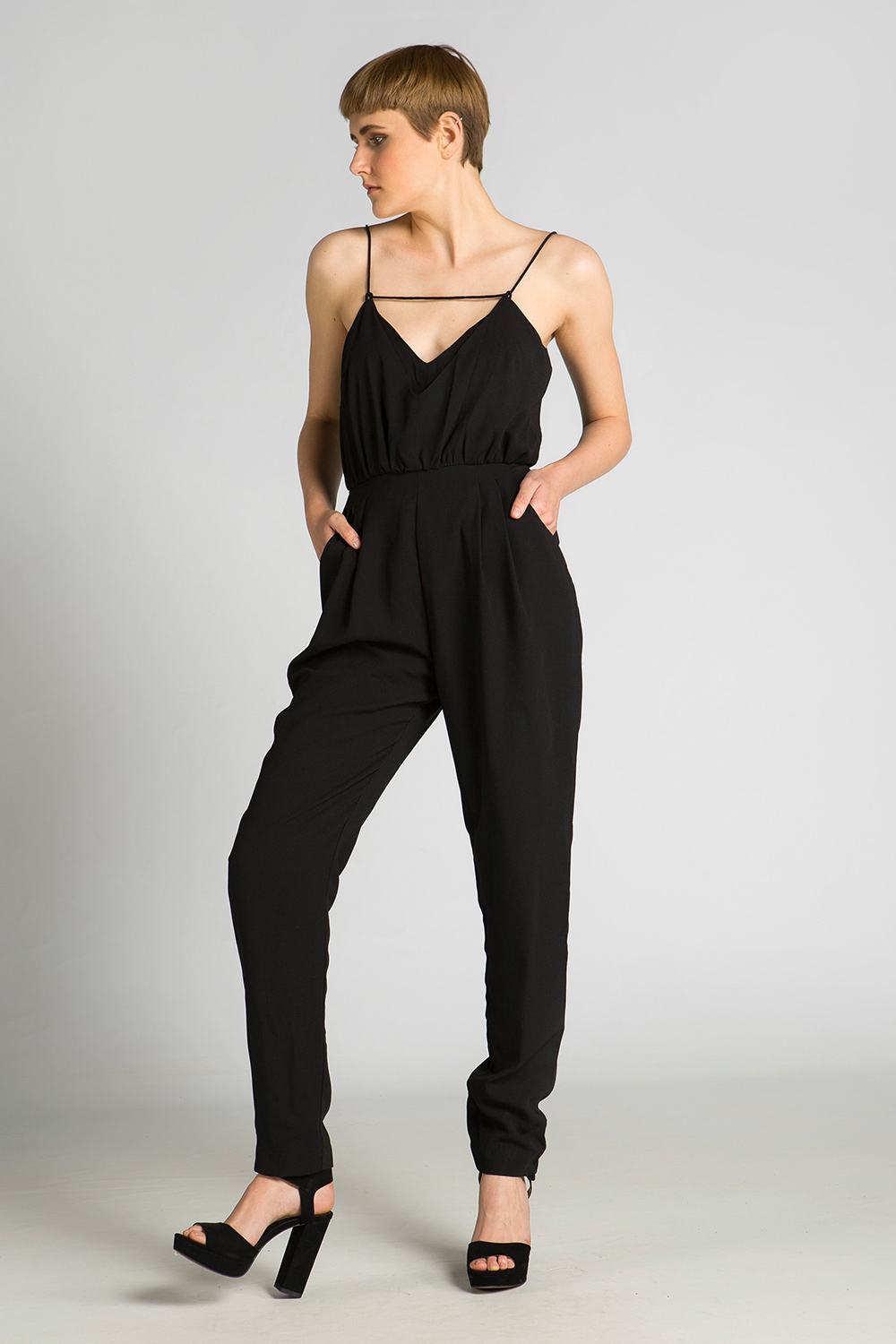 d2aa8606deed Finders Keepers The Someday Jumpsuit Black