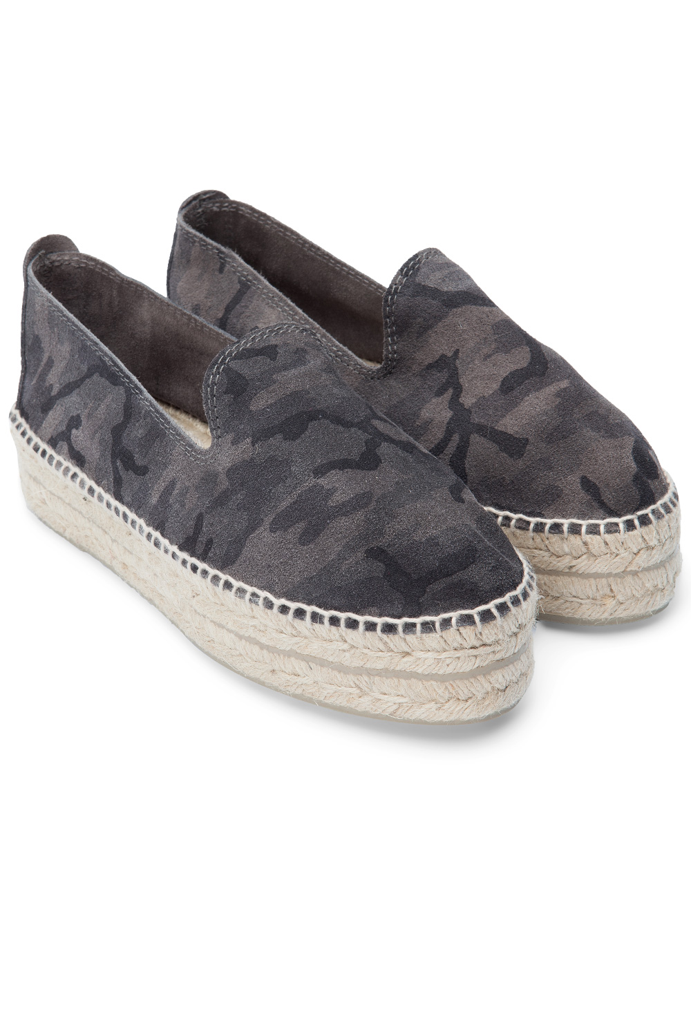 Dakar Camo Dark Jungle Süet Espadril