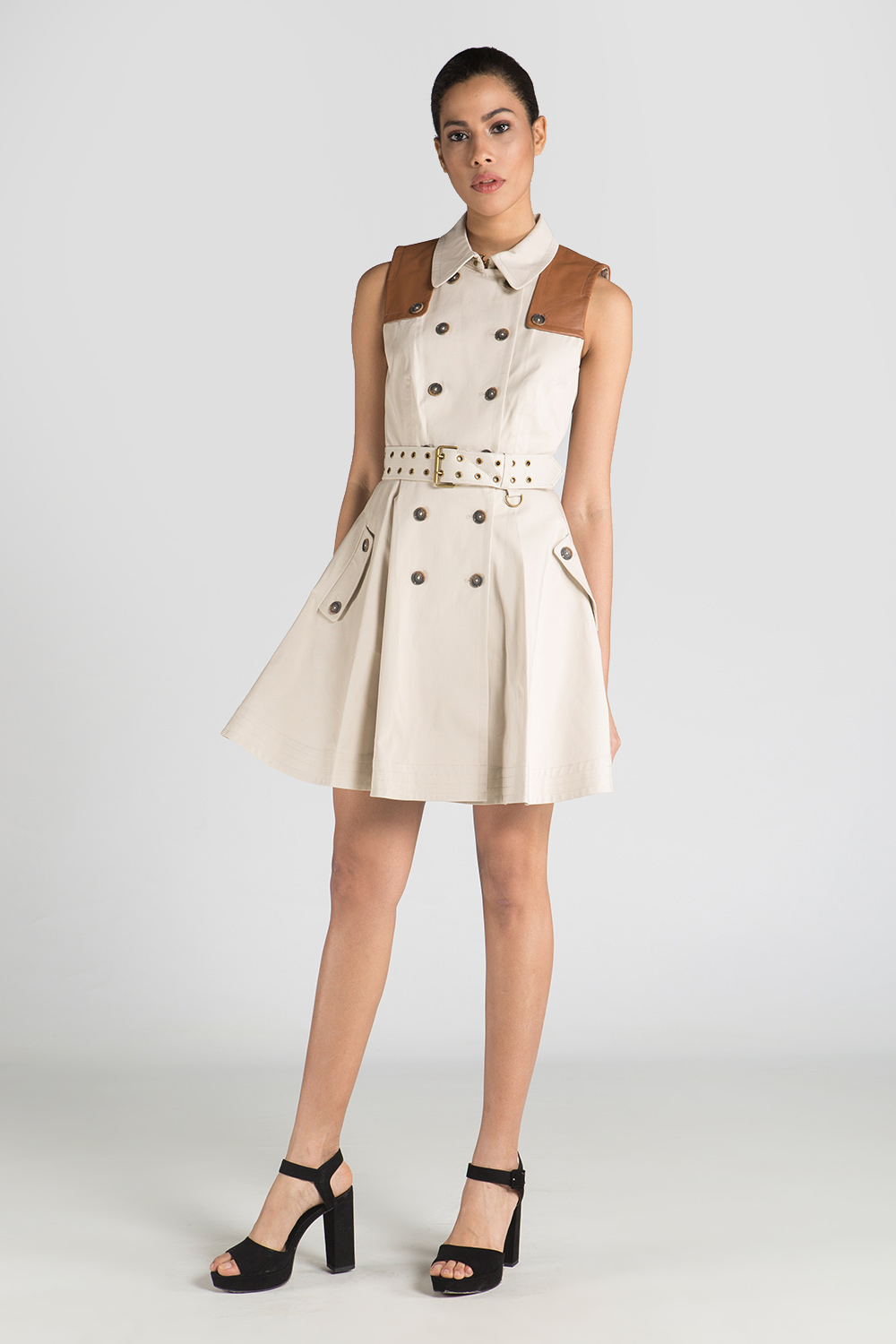 Trench coats aren't something that was taken straight out of a Fashion shows' runway. Through out the years trench coats were incorporated into the fashion industry. As well as thru the years, trench coats have evolved from the classic khaki long trench coats to more modern styles.