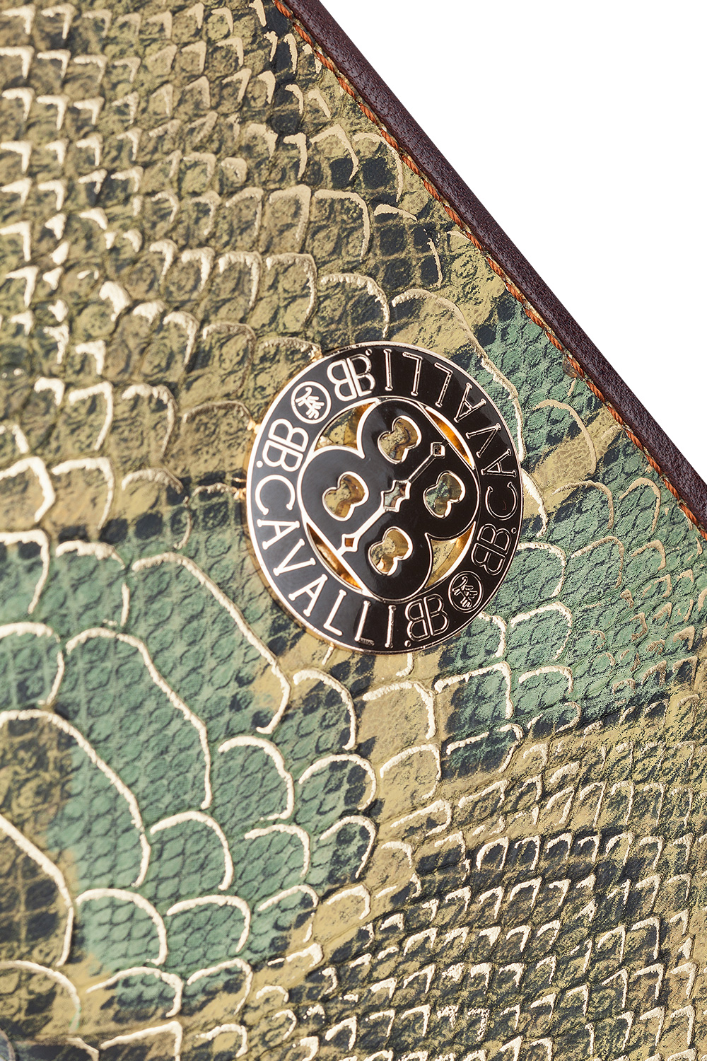 Snake Print Wallet Green 365ist