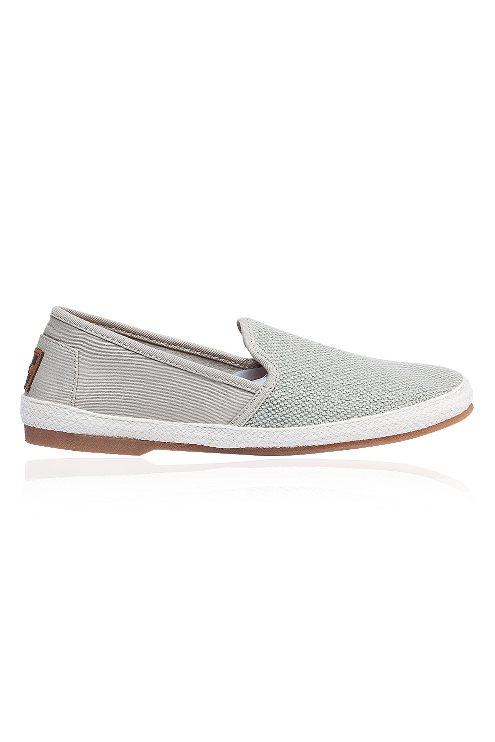 Agate Canvas Textured Espadril