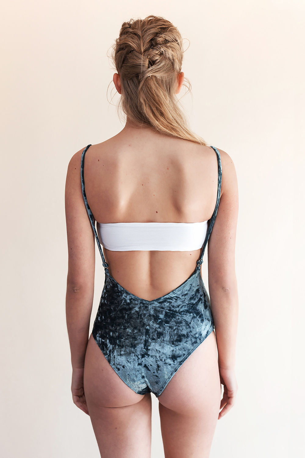 82a3b05d69 Movom Khao Suspender Swimsuit Blue