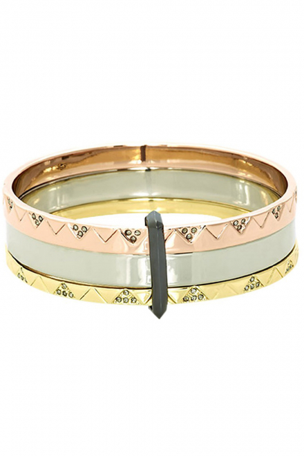 Santorini Stack Bangle Set