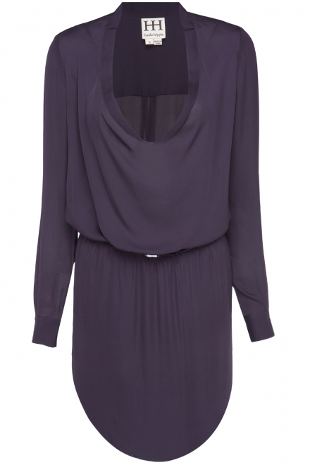 haute-hippie-cowl-shirt-dress-with-shirtail-and-lady-belt-purple