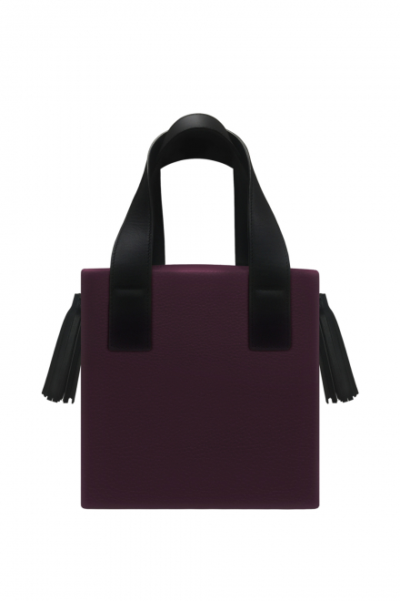 Box Accordion MellieBag - Multicolor Damson