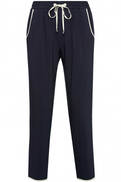 french-connection-spring-sprinter-tie-waist-trousers-navy