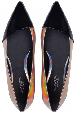 giambattista-valli-leather-ballerinas-black
