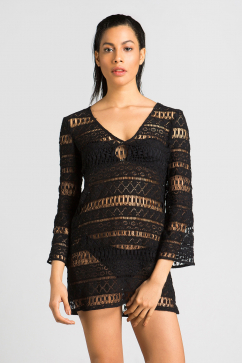milly-mykonos-crochet-tunic-black
