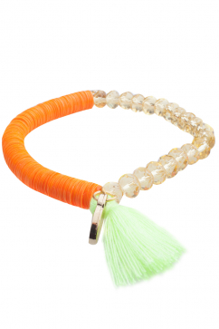 anchorage-crystal-beads-and-sequins-orange-bracelet-orange