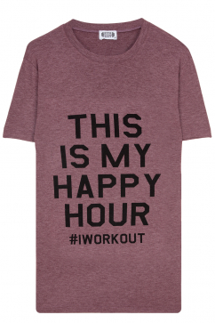 gym-rat-this-is-my-happy-hour-yuvarlak-yaka-tisort-bordo