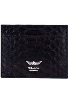 altezzoso-typhon-python-card-holder-black