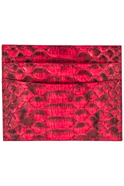 altezzoso-typhon-python-card-holder-red
