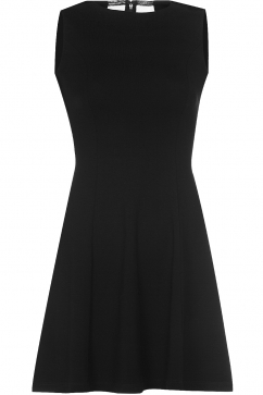 french-connection-black-viscose-dress-black