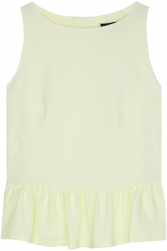french-connection-tennis-crepe-sleeveless-top-neon-sari