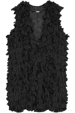 muller-of-yoshiokubo-fringe-vest-black