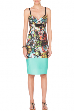 milly-cut-out-sheath-dress-multicolor