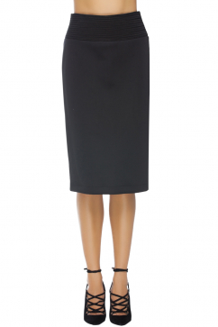 robert-rodriguez-quorra-striped-embroidery-pencil-skirt-black