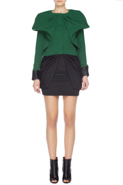 amaya-arzuaga-collar-detail-cardigan-green