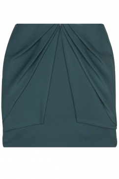 amaya-arzuaga-layered-skirt-green
