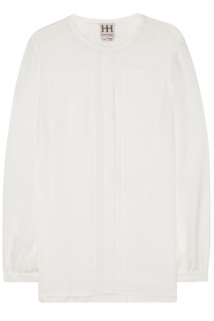 haute-hippie-blouse-with-chiffon-panels-white