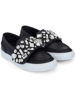 giambattista-valli-embellished-slip-on-sneakers-black