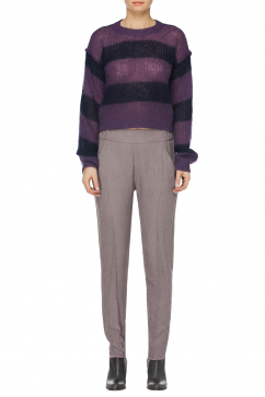 mm6-maison-martin-margiela-striped-crop-sweater-mor-lacivert
