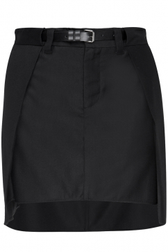 mm6-maison-martin-margiela-black-belted-skirt-black