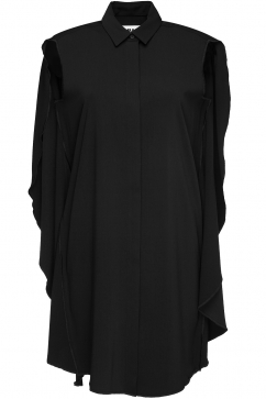 mm6-maison-martin-margiela-cape-dress-black