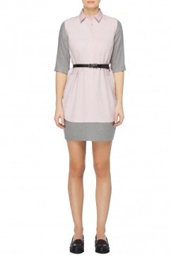 mm6-maison-martin-margiela-two-tone-shirt-dress-pembe-gri