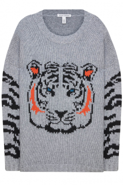 autumn-cashmere-oversize-tiger-sweater-grey