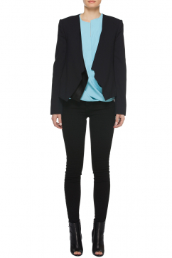 halston-heritage-leather-trim-jacket-black