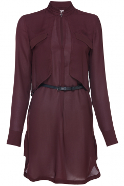 halston-heritage-ls-double-layer-dress-burgundy
