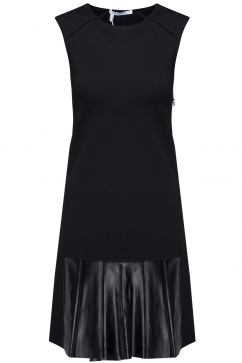 10-crosby-derek-lam-leather-detail-pleated-dress-black