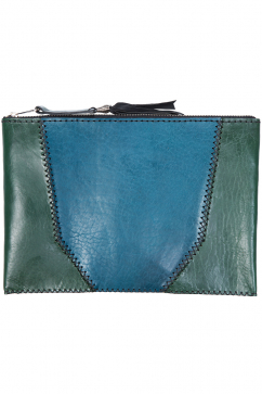 lou-design-studio-duo-colored-clutch-yesil-mavi