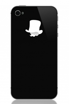 donkey-mr.-watson-sticker-for-smartphones-white