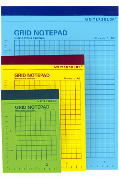 kikkerland-grid-notepad--medium-multicolor