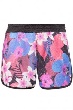 my-t-shirt-flower-print-shorts-multicolor
