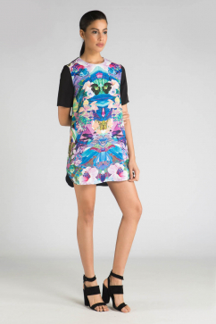 finders-keepers-simple-life-t-shirt-dress-multicolor