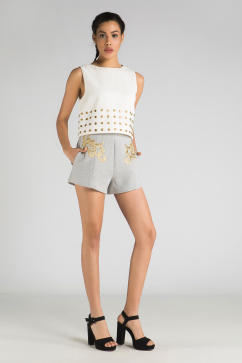 finders-keepers-symphone-shorts-gri-dore