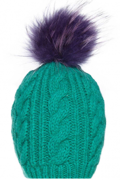 mynita-fur-pom-pom-beanie-light-green-purple