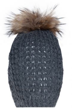 mynita-no-pain-pom-pom-beanie-dark-grey-beige