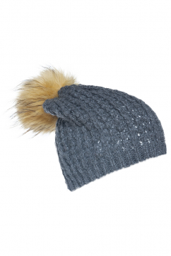 mynita-no-pain-pom-pom-beanie-dark-grey-yellow