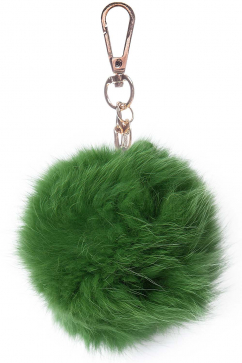 mynita-fur-time-keychain-green